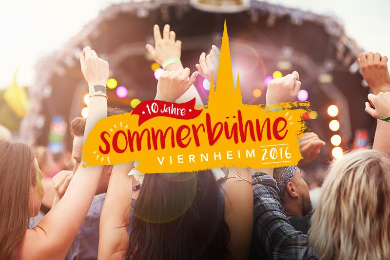 EM 2016 Sommerbühne Viernheim