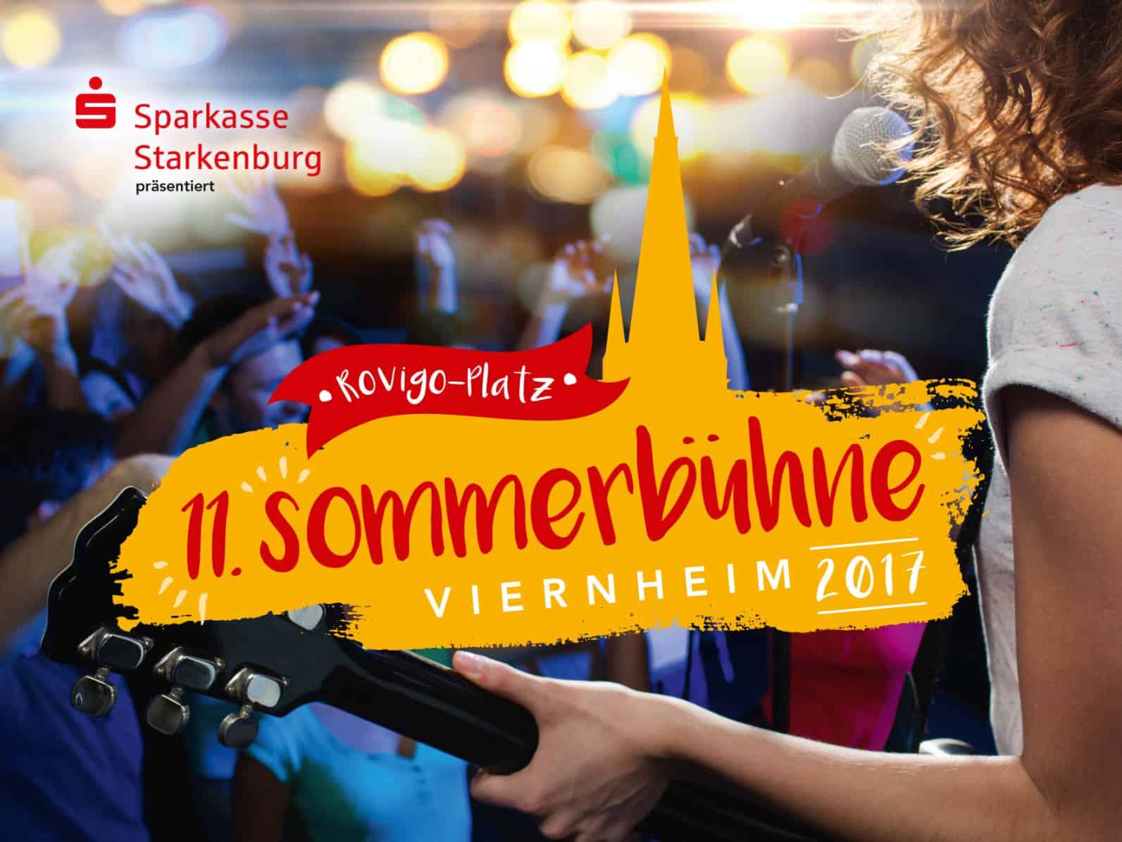 Sommerbühne Viernheim 2017
