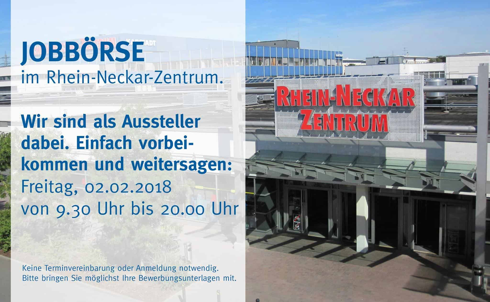 Erdt im Rhein-Neckar Zentrum #jobmesse