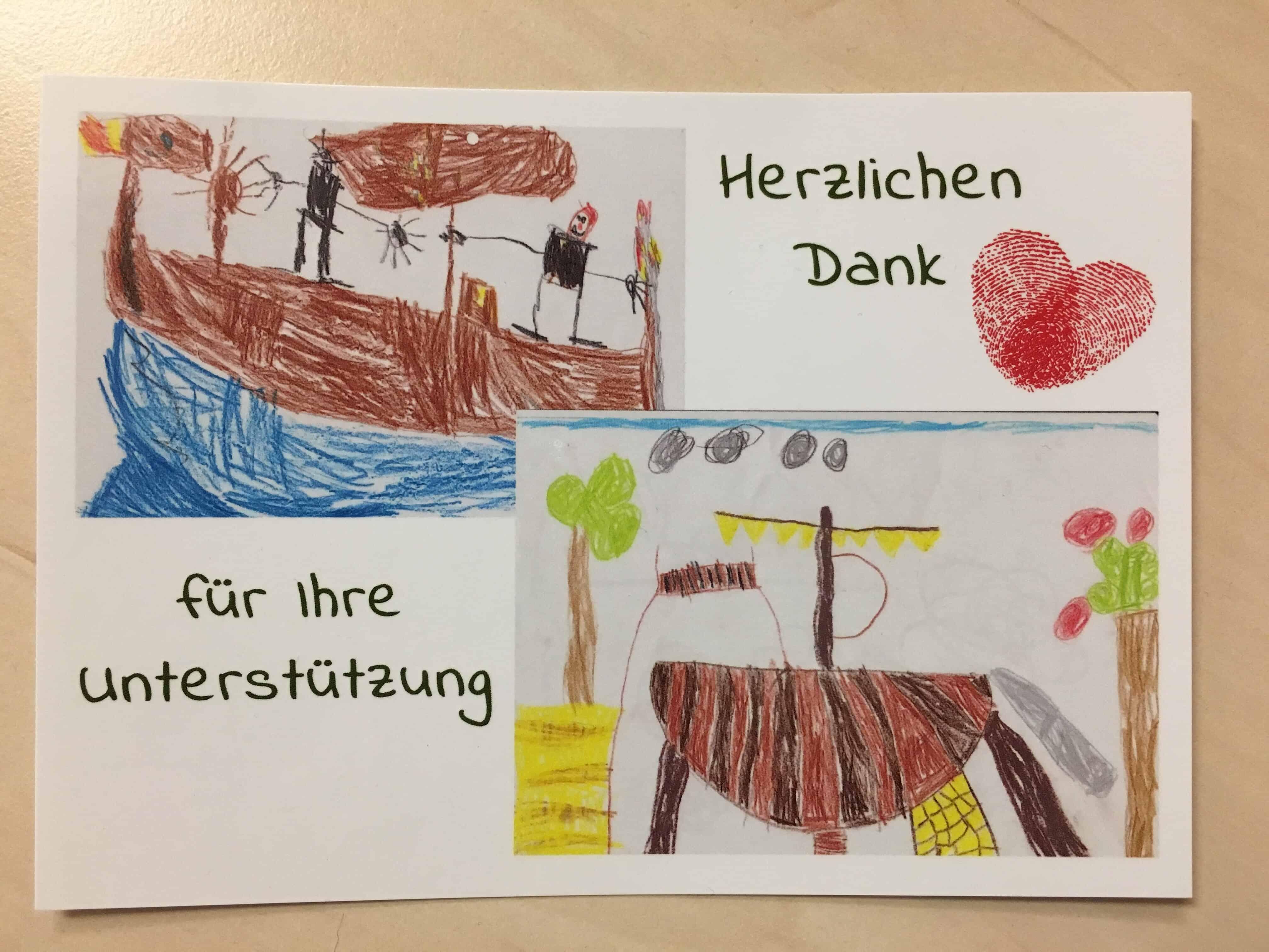 Post vom Kindergarten