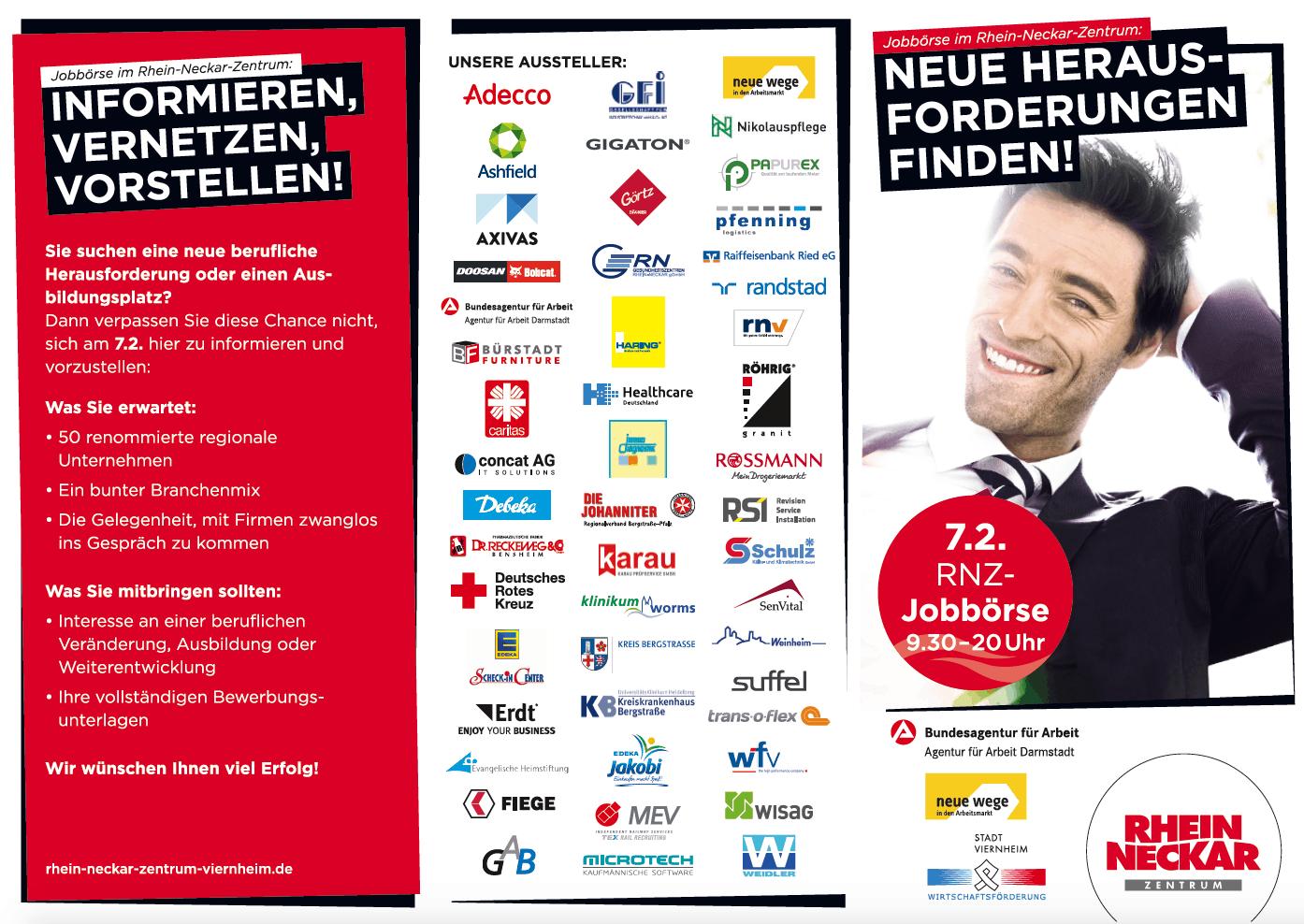 Informieren, vernetzen, bewerben: Erdt-Gruppe auf der Jobmesse im Rhein-Neckar-Zentrum Viernheim
